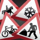 UK Road Signs: Warnings 3 - GraphicRiver Item for Sale