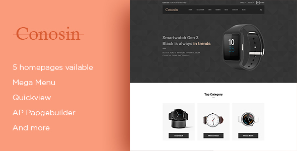 Download Leo Conosin Responsive Prestashop Theme nulled download