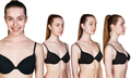 Young female body in different angles