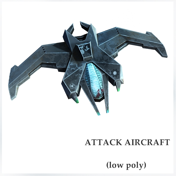 3DOcean Attack aircraft 18635312