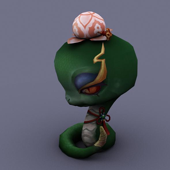 snake green - 3DOcean Item for Sale