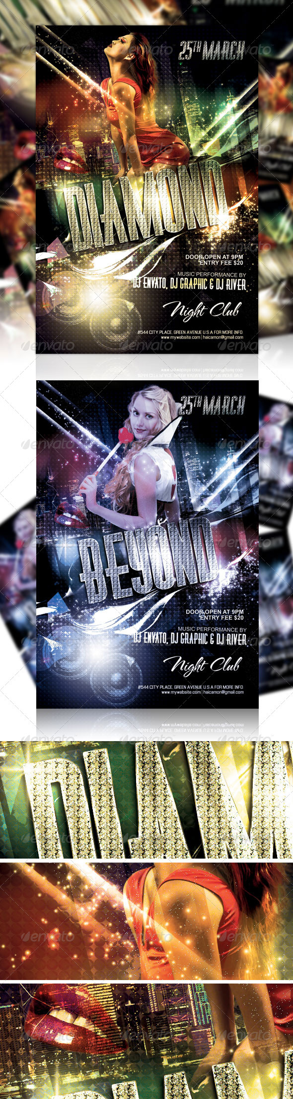Night Club Party Flyer Vol 1