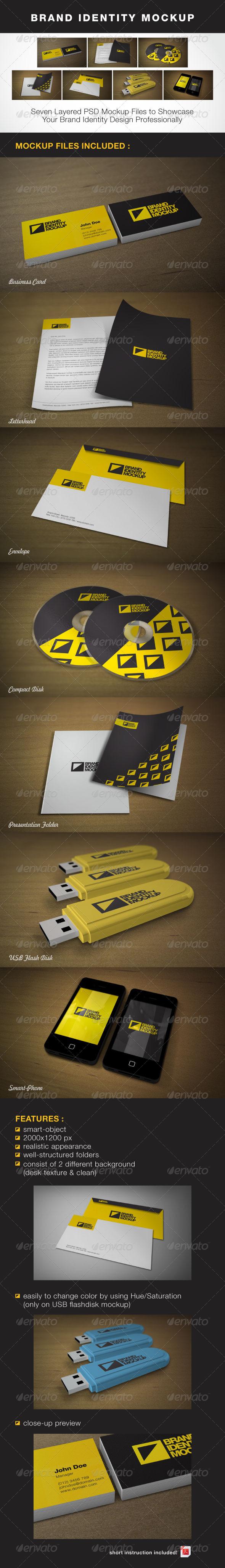 GraphicRiver Brand Identity Mock-up 1791344