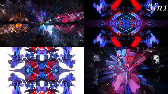 Download Abstract Star - VJ Loop Pack (3in1) nulled download