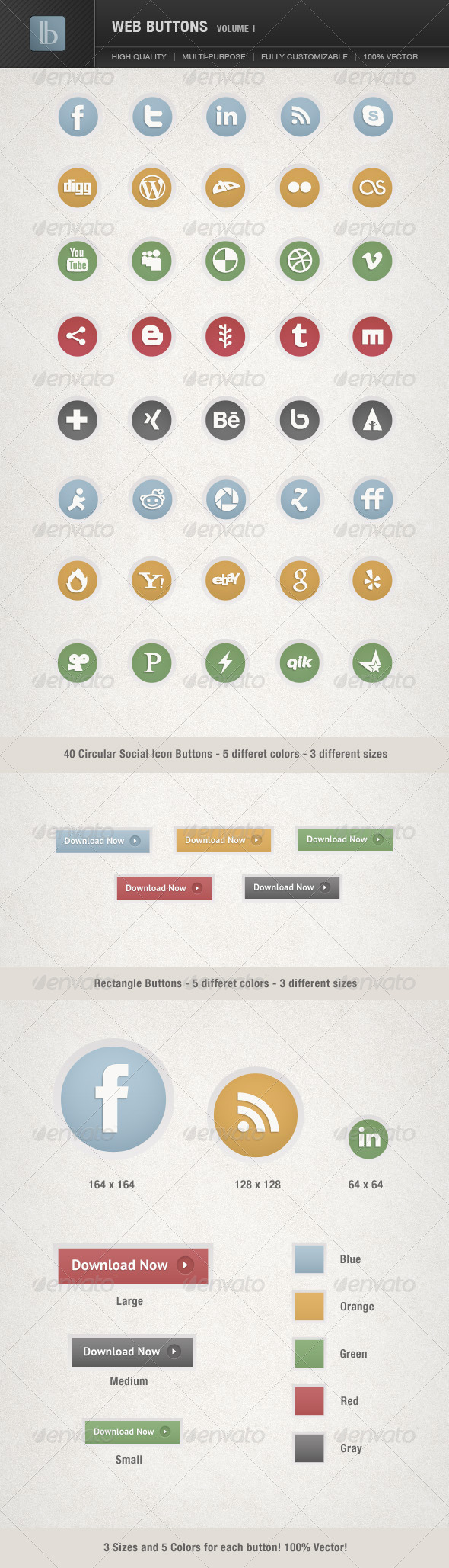GraphicRiver Web Buttons Volume 1 1790629