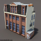 Apartment House Low Poly 3d Model #153