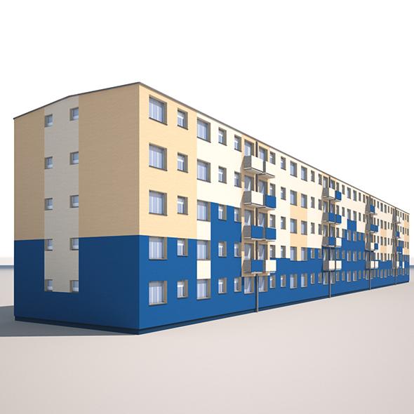 3DOcean Apartment Building 18645361