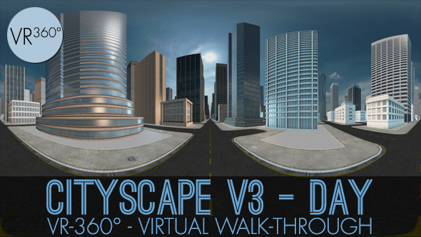Download VR-360° Cityscape V3 Day nulled download