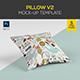 Pillow Mock-up Template (5 PSD)