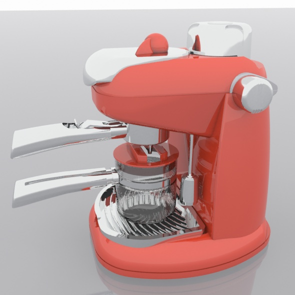 Coffee machine - 3DOcean Item for Sale