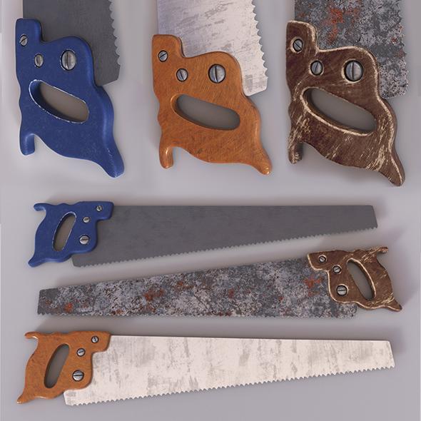 handsaw - 3DOcean Item for Sale