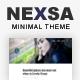 Nexsa - Modern and Minimal WordPress Theme