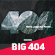 Big 404 Duotone Error