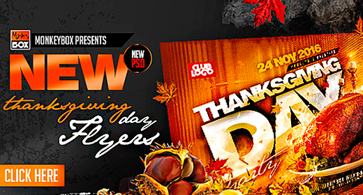 Thanksgiving Day Flyers