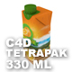 Tetra Pak 330 ml (with waterdrops)