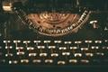 Aged Typewriter Machine