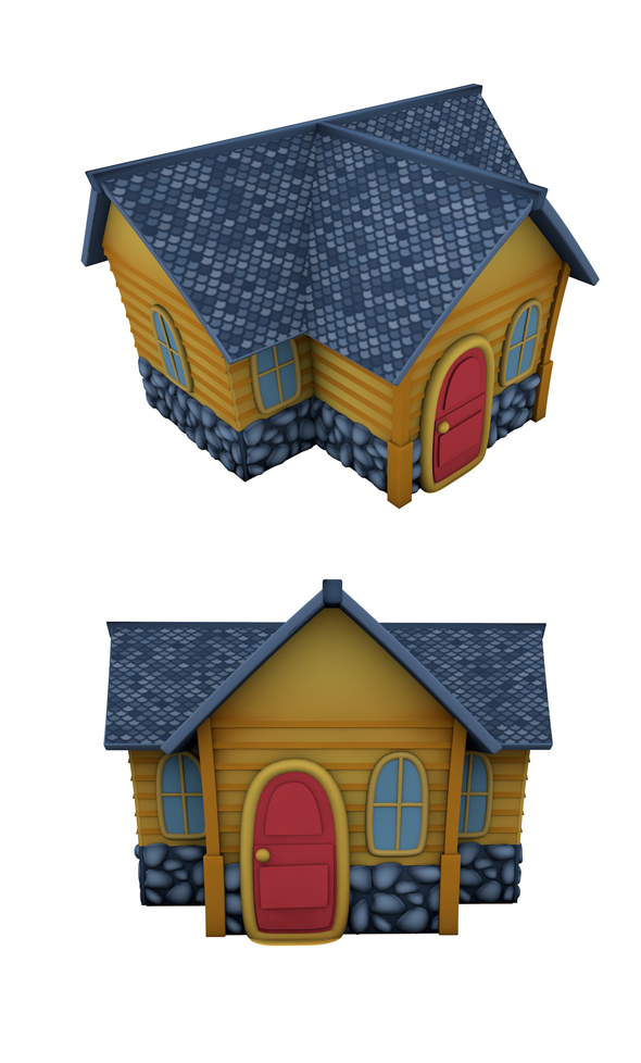 Fantasy Toy House - 3DOcean Item for Sale