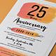 Brush Anniversary Invitation