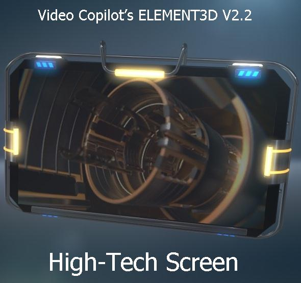 Screen for Video Copilot's Element 3D v.2.2 - 3DOcean Item for Sale
