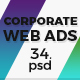 Corporate & Business Ad Banners