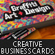 Creative Business Card#3-Grafitti Art & Designer - GraphicRiver Item for Sale