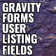Gravity Forms User Listing Field (Forms) Download