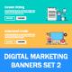 Digital Marketing Banners Set2