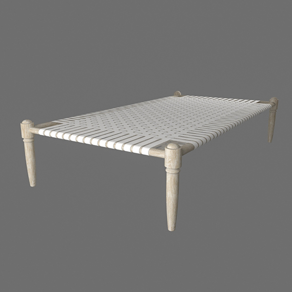 Charpai (indian bed) - 3DOcean Item for Sale