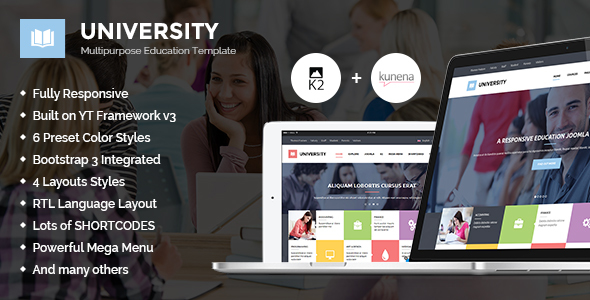 01 590x300.  large preview - University II - Multipurpose Education Template
