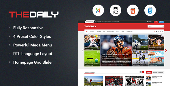 01 590x300.  large preview - TheDaily - Responsive News Portal Joomla Template