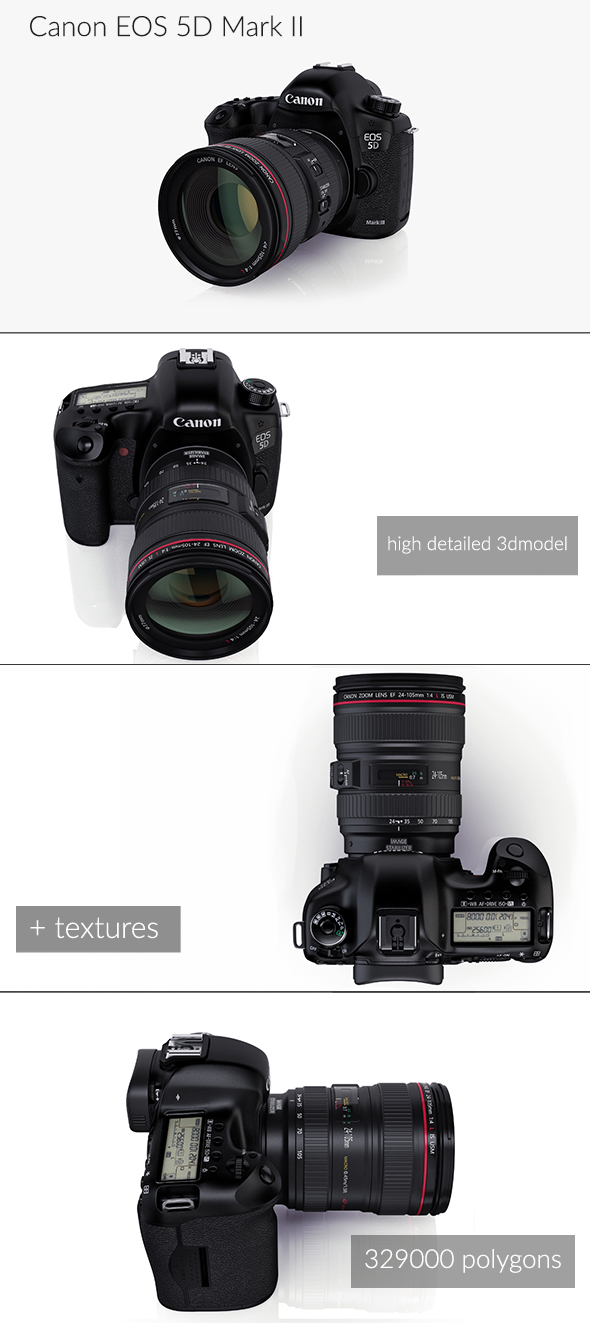Canon EOS 5D mark III - 3DOcean Item for Sale