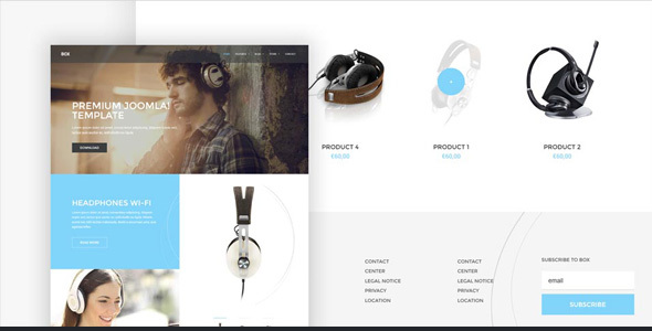 BOX – Brand-building eCommerce WordPress Theme (eCommerce) images