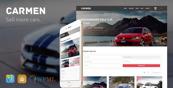 Carmen - Car Dealership WordPress Theme