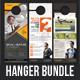 3 Corporate Business Door Hanger Bundle 06
