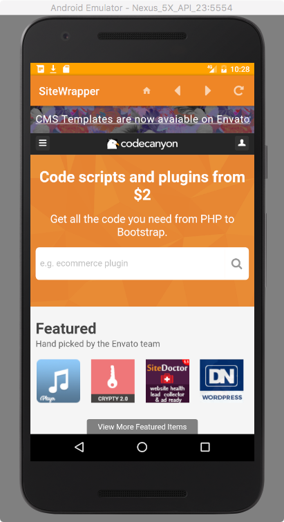Image Result For Codecanyon Customizable Site App Android