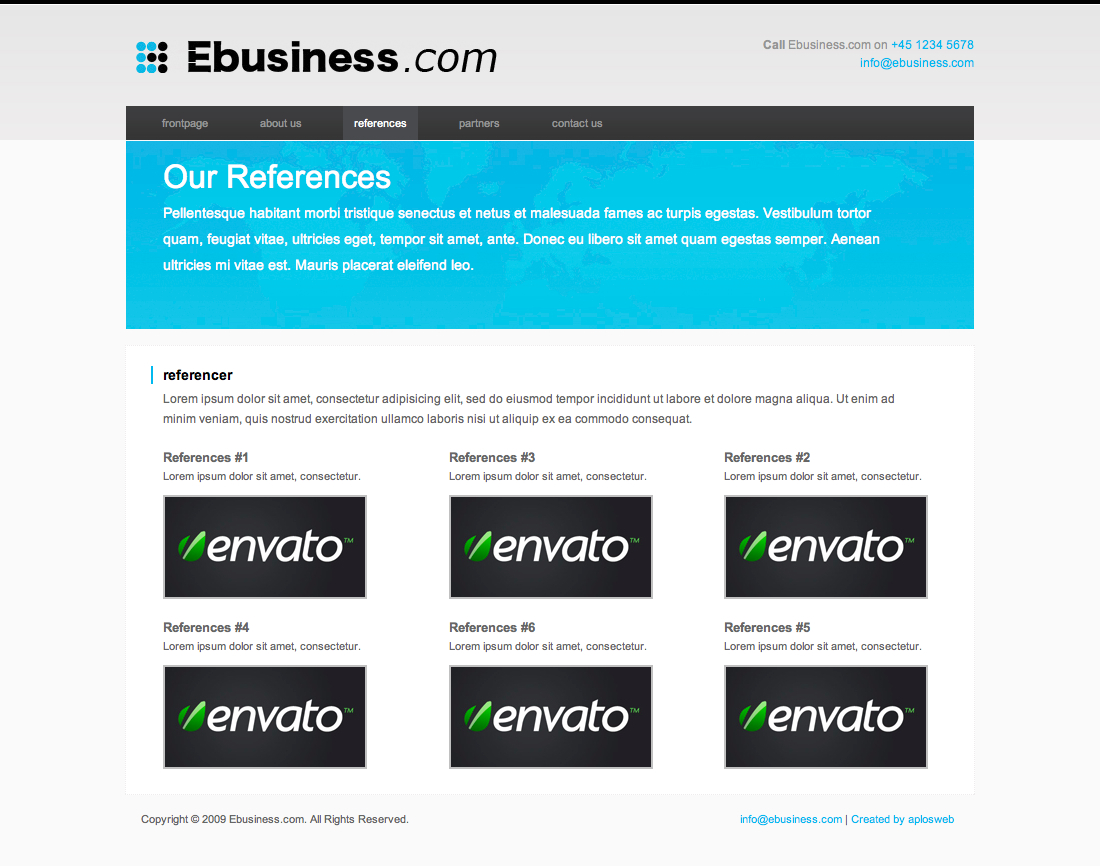 Ebusiness theme
