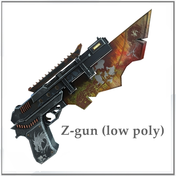 Z-gun - 3DOcean Item for Sale