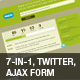 Under construction/maintenance – Twitter & AJAX - ThemeForest Item for Sale