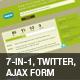 Under construction/maintenance – Twitter & AJAX - ThemeForest Item for Sale