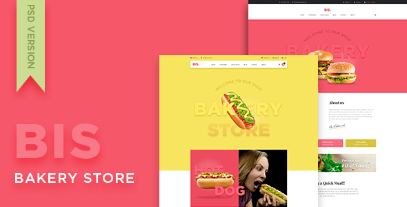 Leo Bis - eCommerce PSD Template