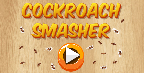 Download Cockroach Smasher - HTML5 Casual Game (CAPX + APK) nulled download