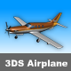 3DS Very Low Poly Airplane