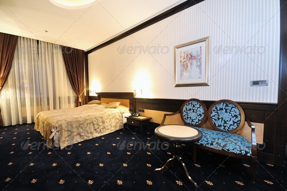 hotel room - Stock Photo - Images