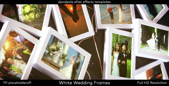 Download White Wedding Frames nulled download