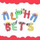 Cartoon Alphabet Emoji Set