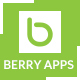 BERRYAPPS - Responsive Mobile App - HTML Template