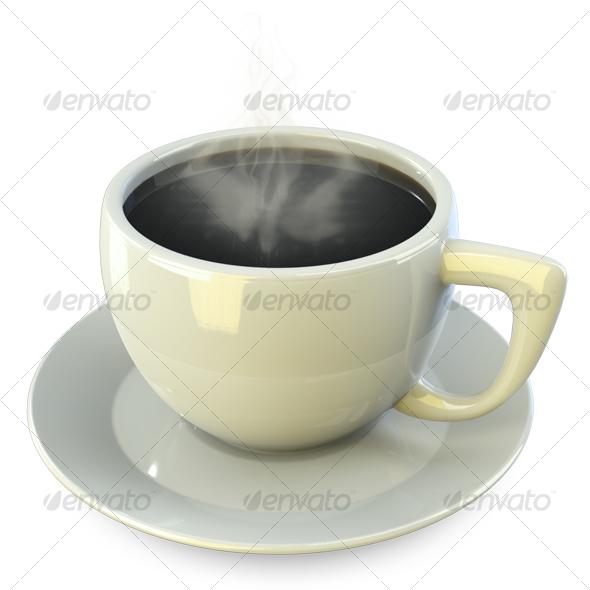 Coffee Break Icon - Food Objects