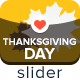 Thanksgiving Day Slider