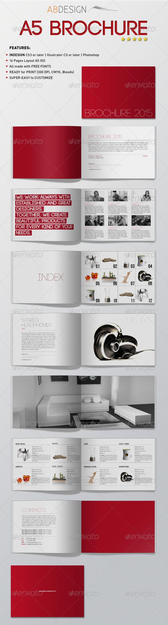 GraphicRiver A5 Brochure 236855