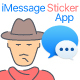STICKer-UP - iMessage Sticker App